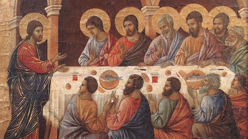 Isusov oproštaj i oporuka