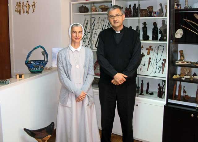 s. M. Marta Čović, misionarka u Ugandi posjetila Misijsku središnjicu u Sarajevu