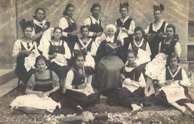 Sarajevo - marijina kongregacija, uYenice i s. natalija cico