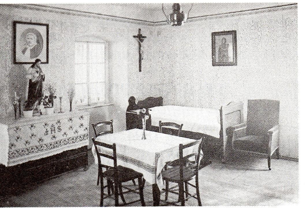 Soba u kojoj je umrla majka franziska
