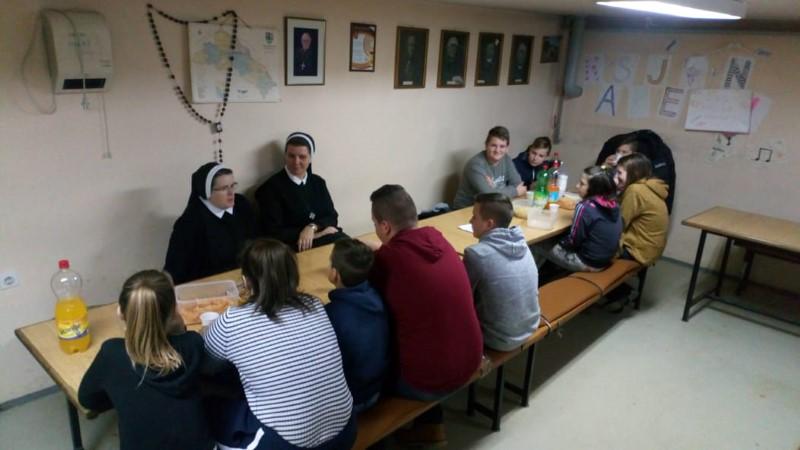 Susret za učenike šestih i sedmih razreda u župi sv. Đurđa kod Ludbrega