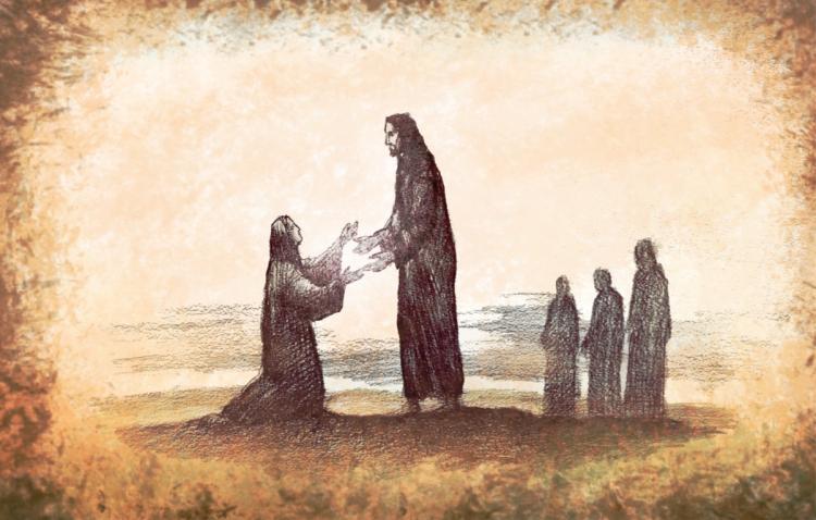 Žena strankinja - primjer vjere