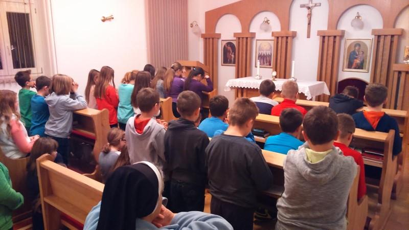 U samostanu u Križevcima održan susret za četvrtaše