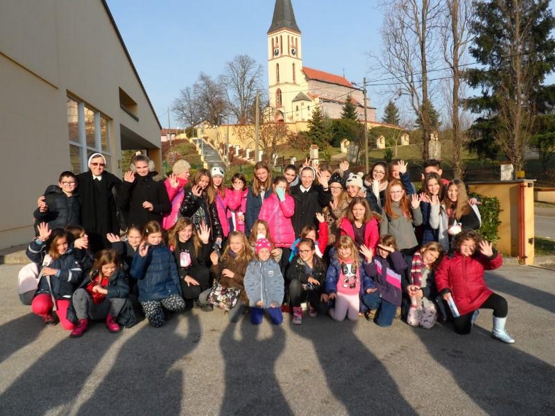 Granešina - posjet članova Dječjeg zbora iz Zaprešića