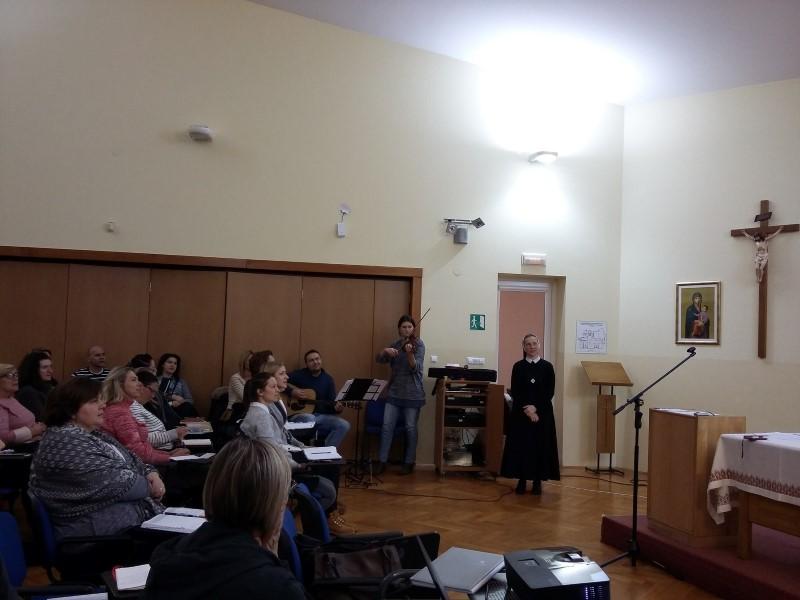 Duhovna obnova u Duhovnom centru u Granešini (Zagreb)
