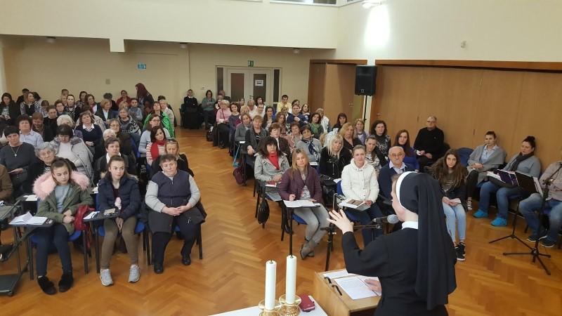 U Duhovnom centru u Granešini održana mjesečna duhovna obnova