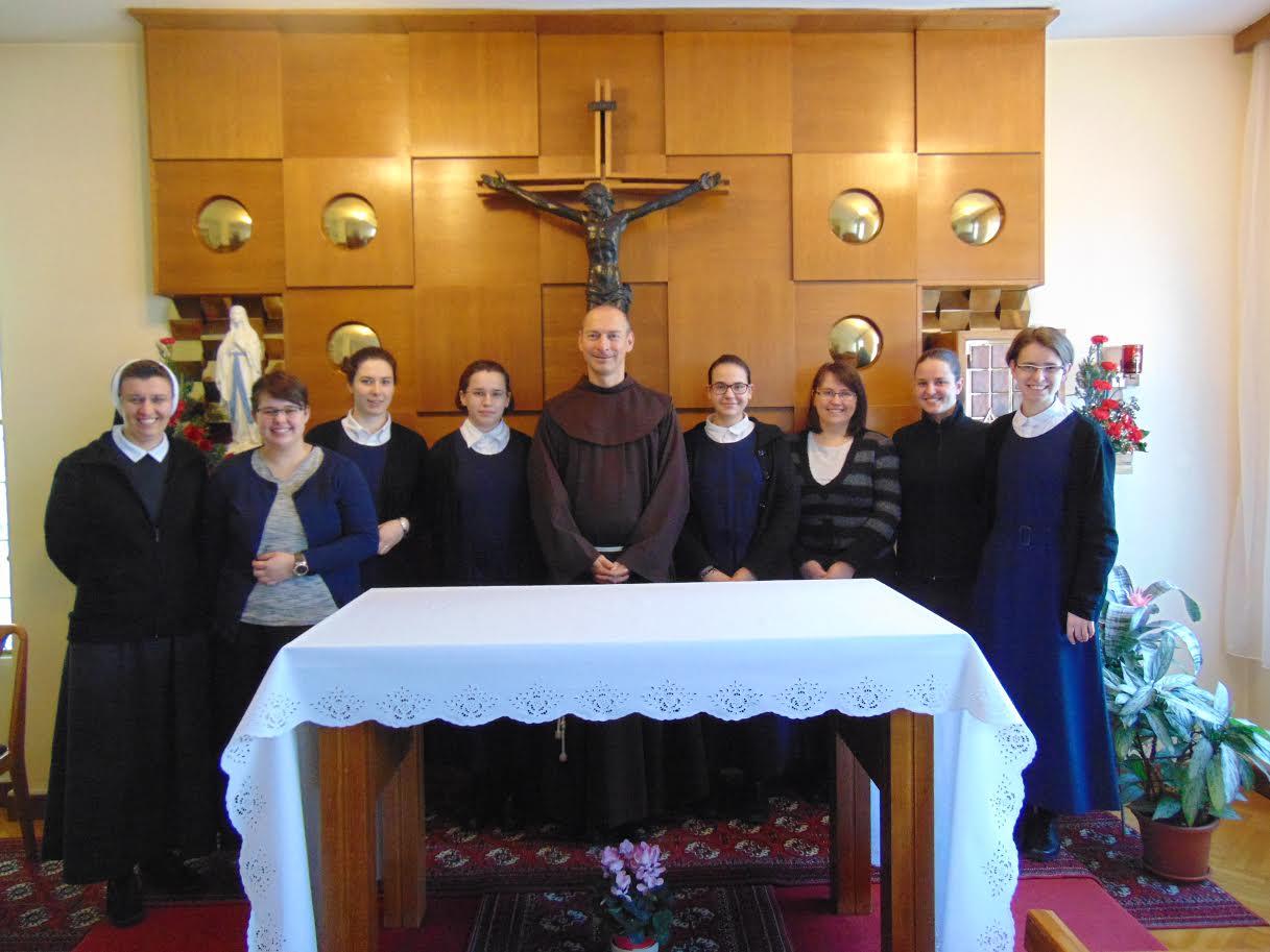 Fra Darko Tepert održao duhovne vježbe za kandidatice i postulantice