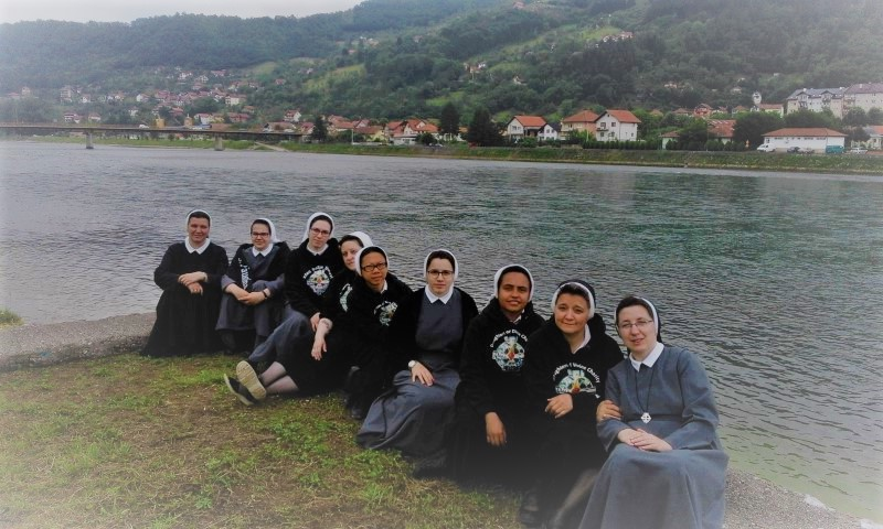 Duhovno-studijsko putovanje sestara novakinja iz Engleske i Hrvatske i priprava za zavjete