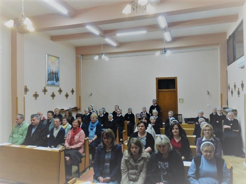 Granešina - zajednička molitva sestara i Suradnika Božje ljubavi uoči Dana Družbe