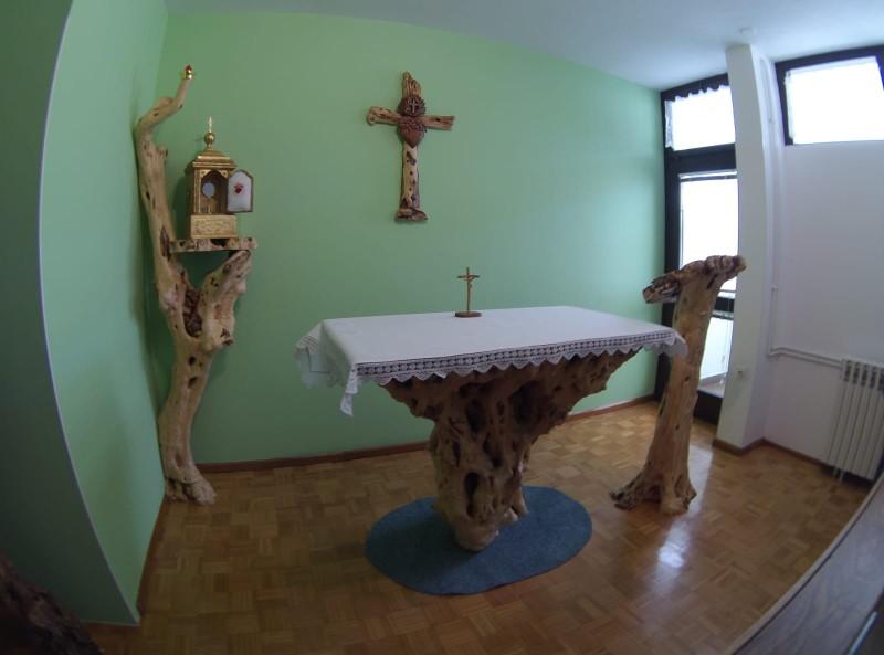 Blagoslov kapelice u zadarskoj zajednici sestara Kćeri Božje ljubavi