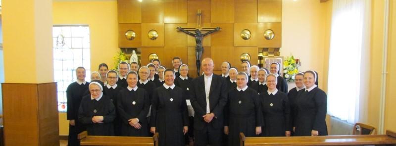 Apostolski nuncij mons. Giorgio Lingua posjetio sestre Kćeri Božje ljubavi