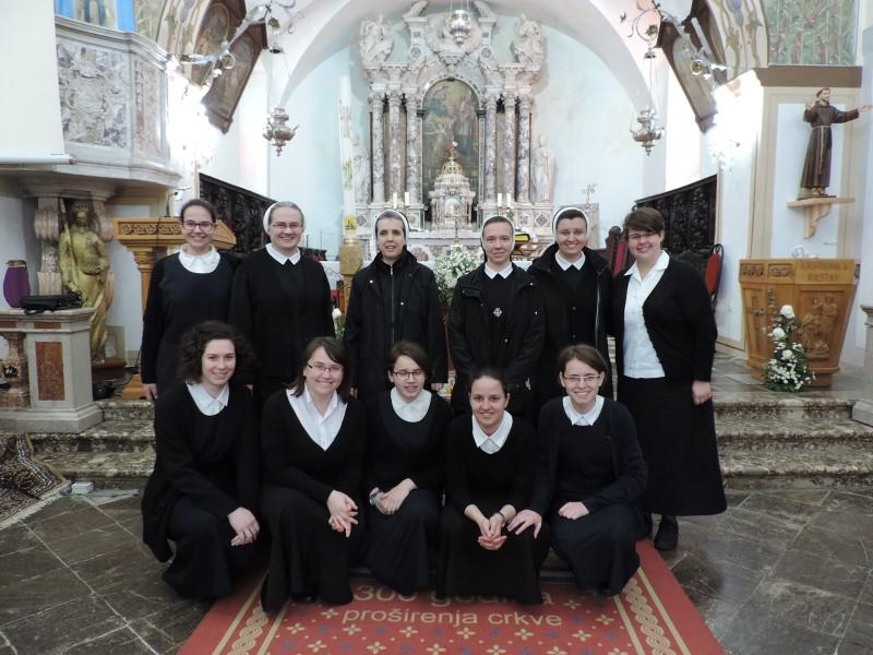 Gostovanje kandidatica i postulantica u Kastvu