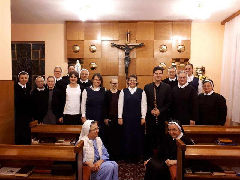 Gabriel Cano - svjetski poznat flautist u našem samostanu u Novoj vesi