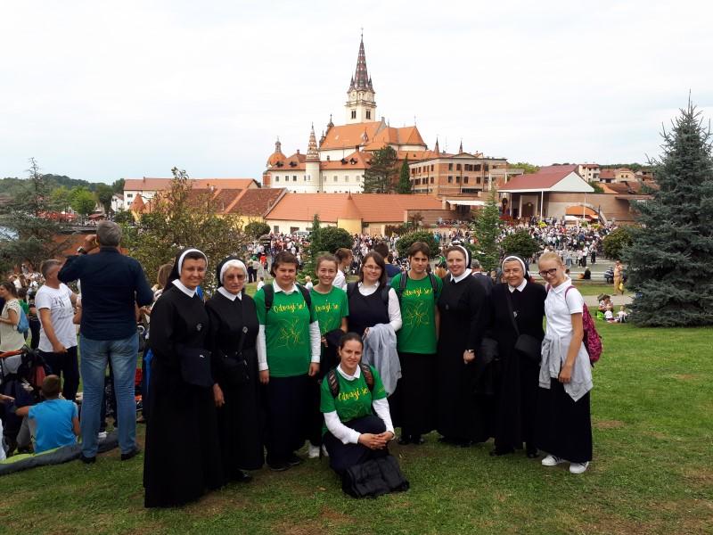 Nadbiskupijsko hodočašće mladih i zavjetno hodočašće grada Zagreba u Mariju Bistricu