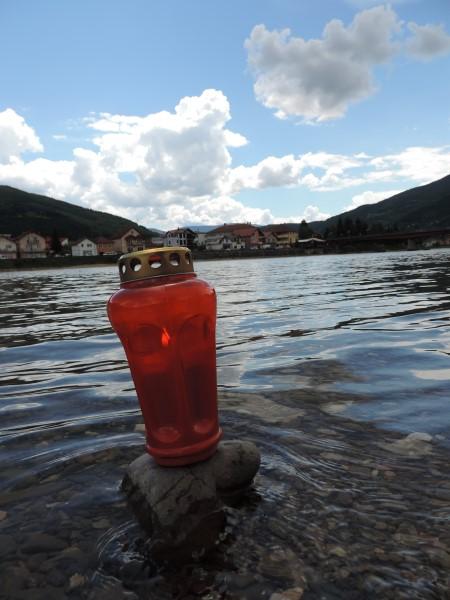 Na obali rijeke Drine u Goraždu