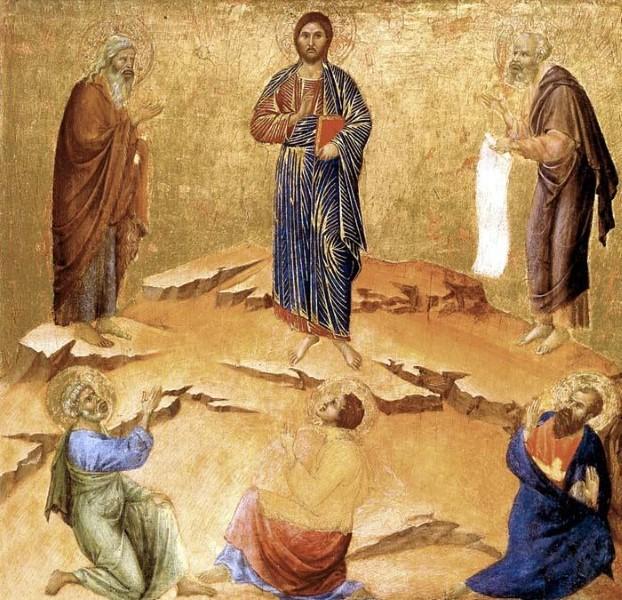 Preobraženje - trenutak očitovanja Isusove slave