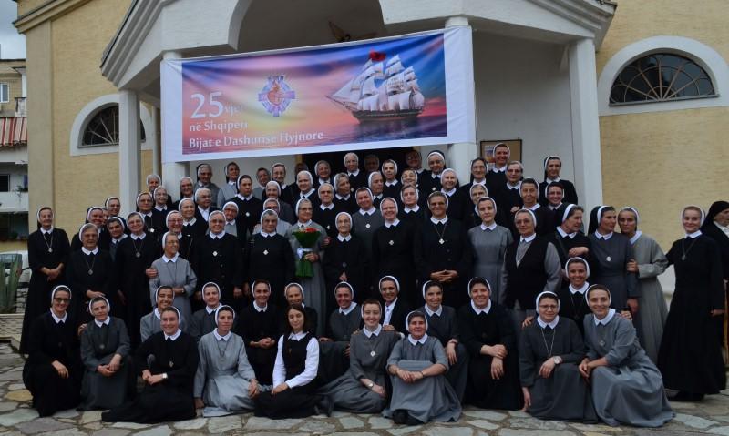 Svečano proslavljena 25. obljetnica plodnog djelovanja u Albaniji