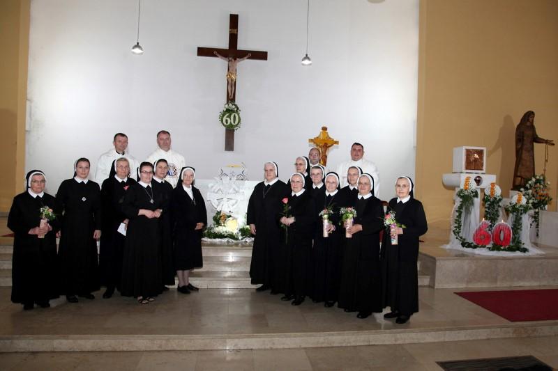 Proslavljeno 60 godina djelovanja sestara u Karlovcu