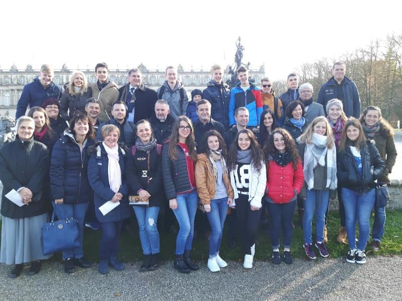 Putovanje s. Jeronime Juroš i grupe studenata iz Albanije u Njemačku