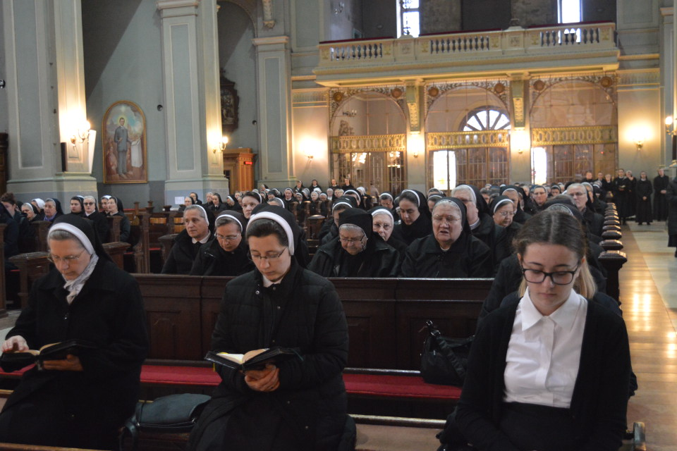 Održana korizmena duhovna obnova za redovnice grada Zagreba