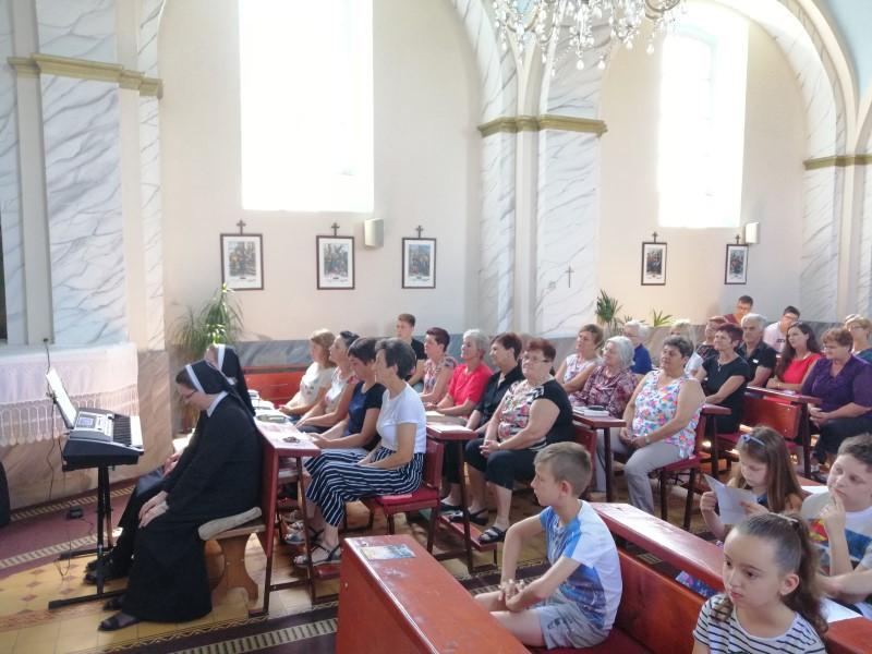 Posjet sestara župama u Slavoniji