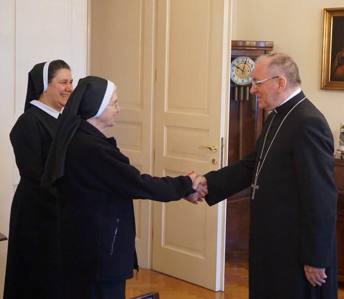 Susret s. Marie Dulce Adams i mons. dr. Antuna Škvorčevića
