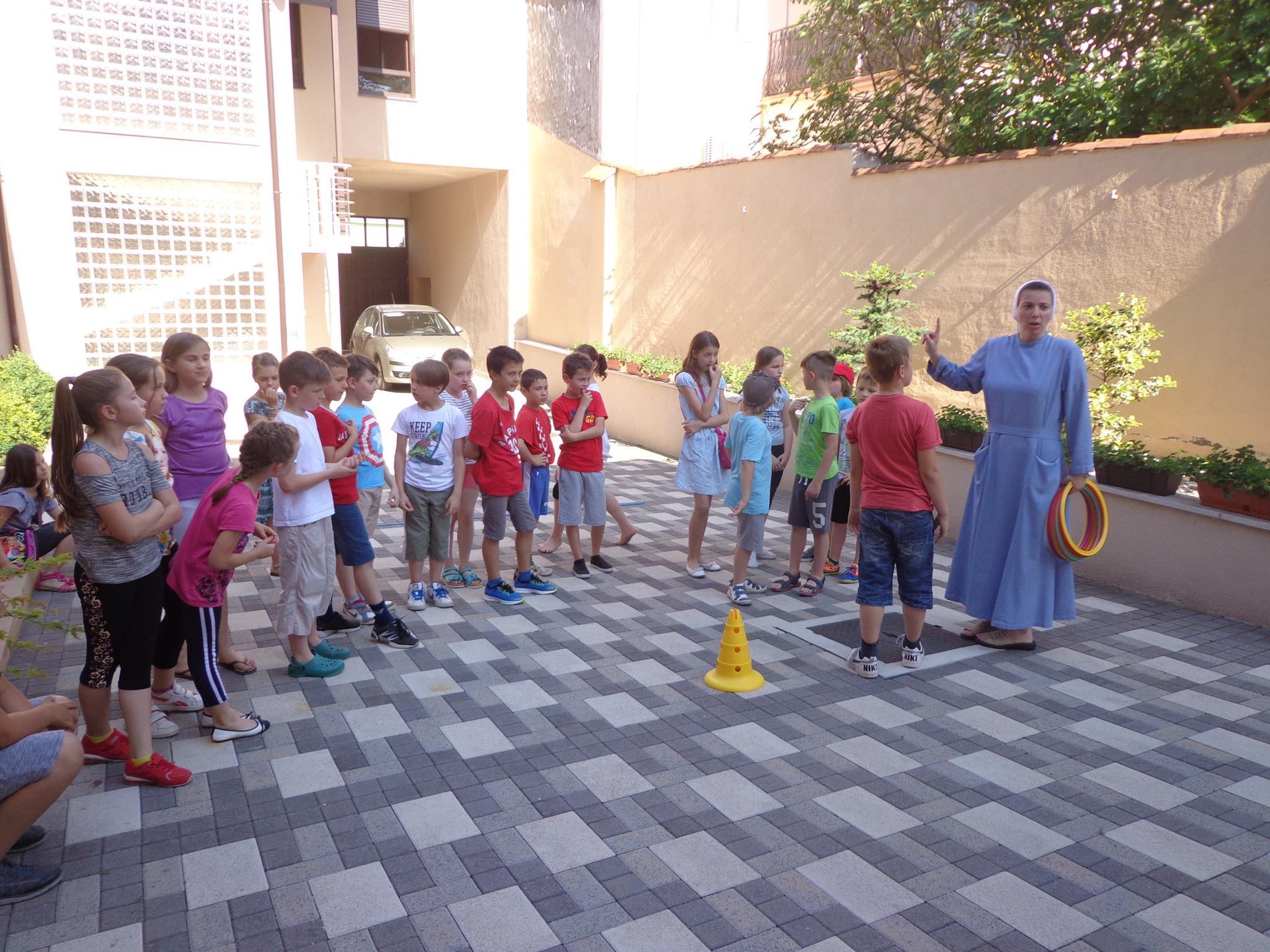 U samostanu u Križevcima održan susret za učenike trećih razreda osnovne škole