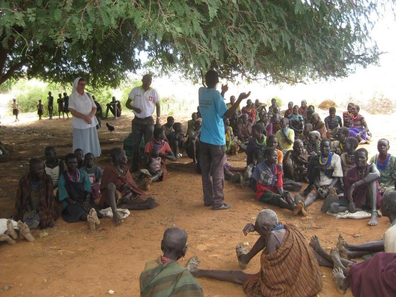 s. Vedrana Ljubić u posjeti Karamoji, jednome od najsiromašnijih dijelova Ugande