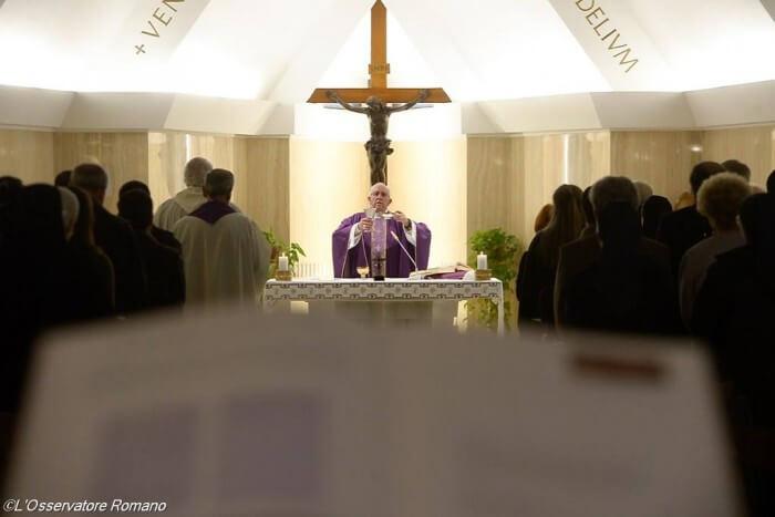Bog je konkretan, a kršćanstvo nije religija pukog govora