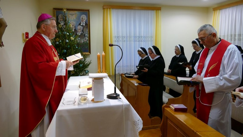 Slavlje sv. Stjepana u samostanu Majke Divne u Splitu