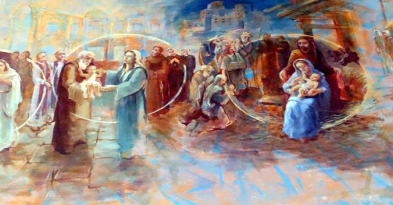 Krunica Božje ljubavi – Radosna otajstva u Božjoj ljubav